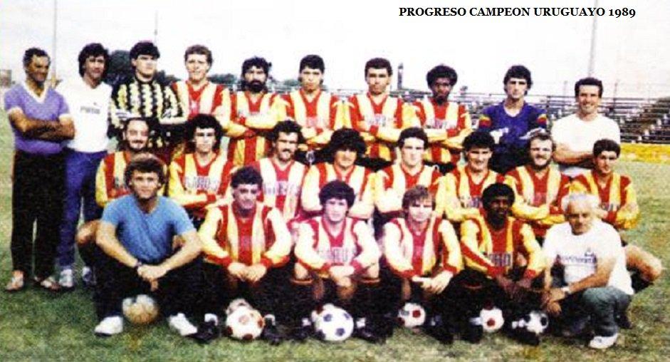 Pasaron 28 años y recordamos Progreso Campeón Uruguayo