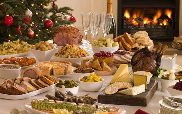 ¡Basta de comer! es Navidad