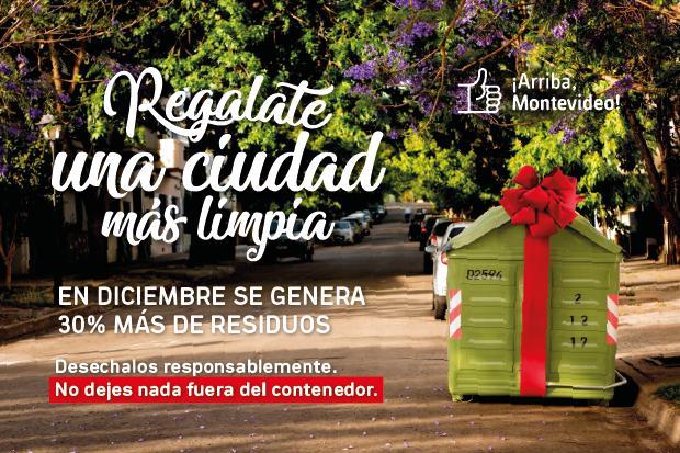 Intendencia anuncia que ya comenzó operativo limpieza por las fiestas (video)