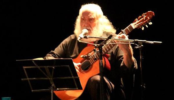 José Larralde otro exitoso que fue presentado por Jorge Cafrune
