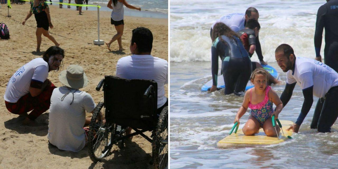 Surf inclusivo en Punta del Este