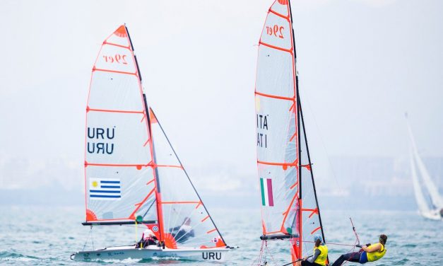 Continúa la participación uruguaya en el Mundial de Vela