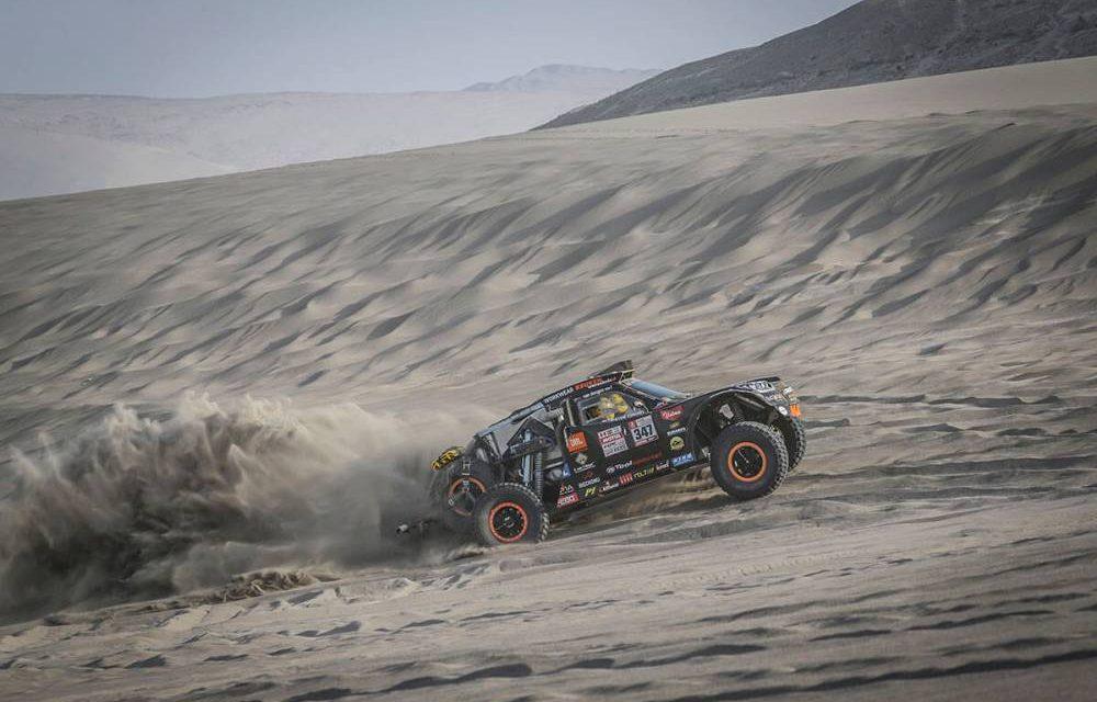 El Dakar despide Perú