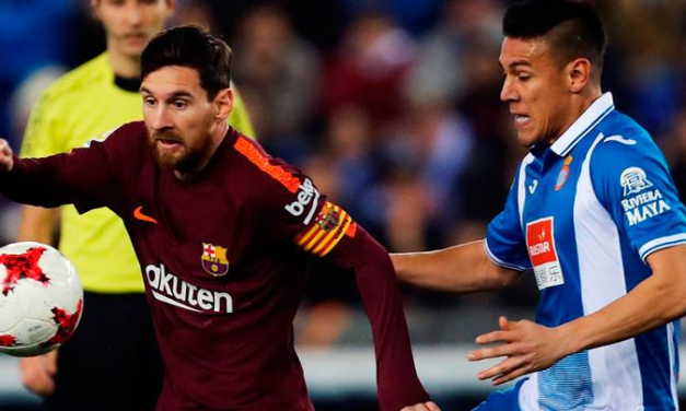Sorpresiva derrota de Barcelona