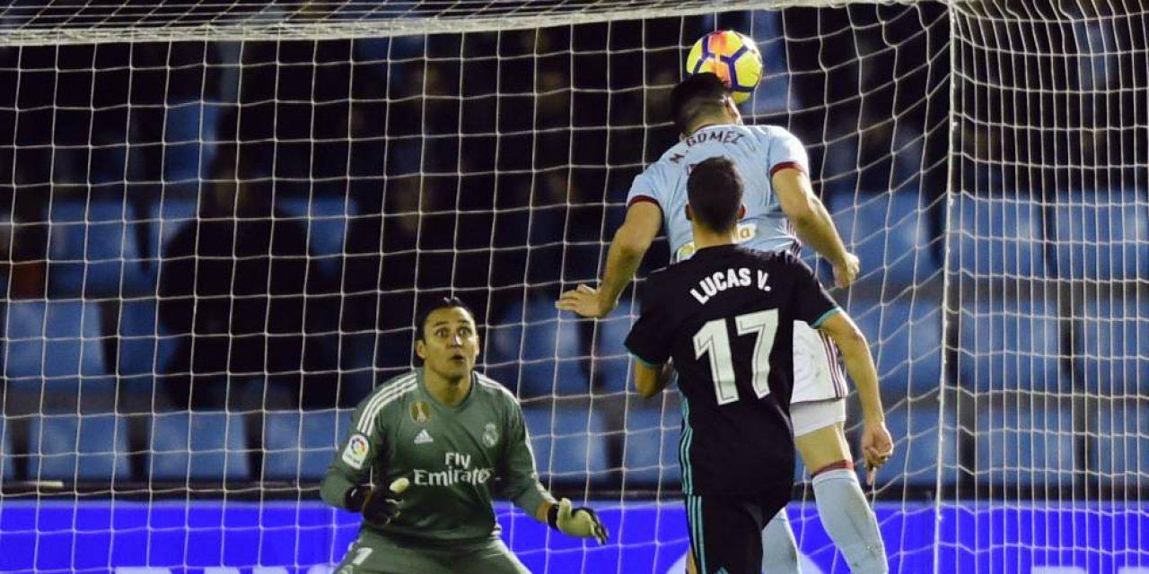 Gómez le sacó el triunfo a Real Madrid