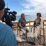 """La Red """"Bandeirantes"""" emite desde Punta del Este promoviendo turismo"""