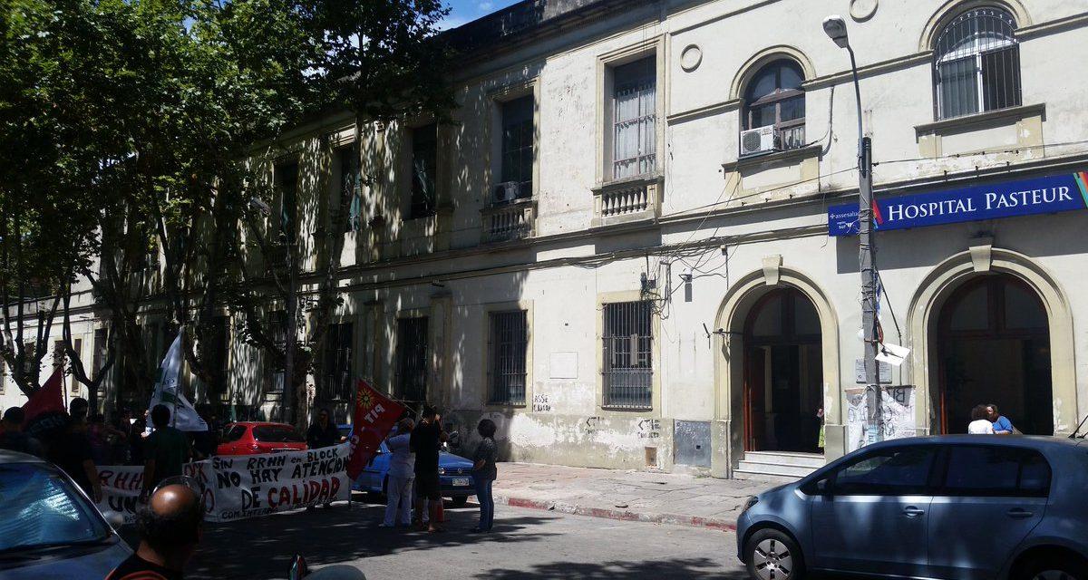 Paro de 24 horas en el hospital Pasteur