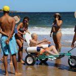Inauguraron Playa Accesible en la Mansa