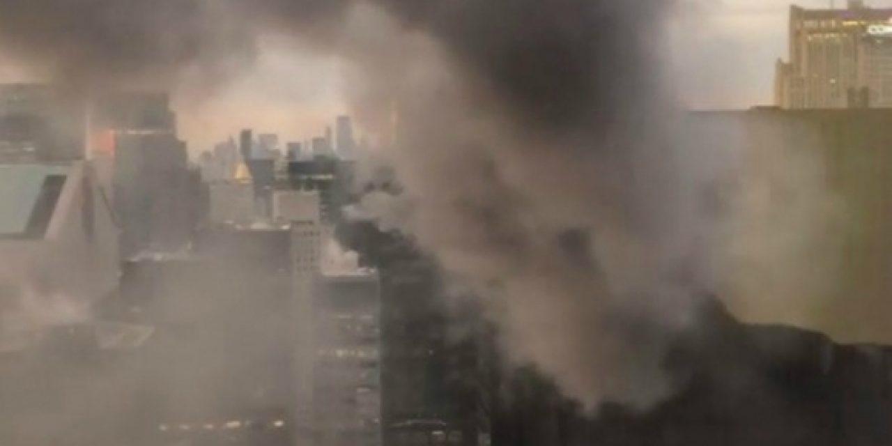 Torre Trump de Manhattan sufrió incendio
