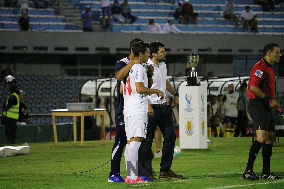 Gonzalo Bueno el asistente para que Nacional se lleve la victoria