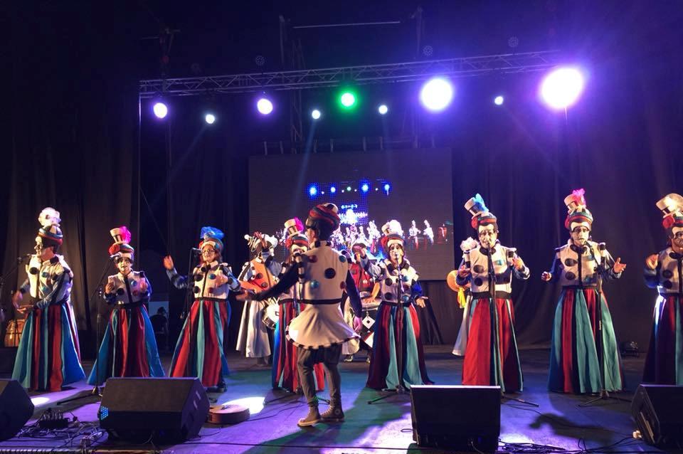 Canelones lanzó su carnaval con una fiesta en Atlántida