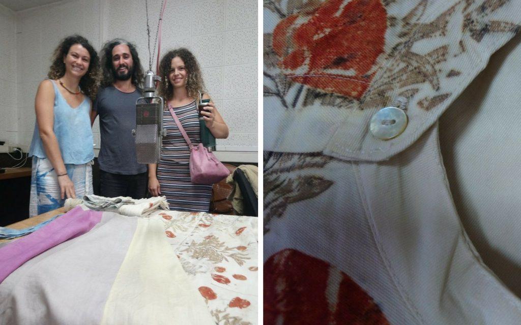 Cerrito de Indios: ropa con tejidos y tintas naturales