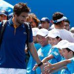 Cuevas cayó en Australia y ahora compite en dobles