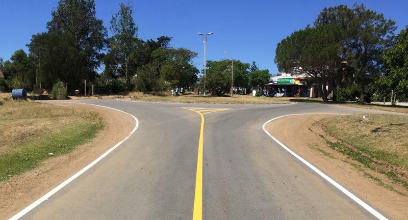 Nueva infraestructura vial en Cuchilla Alta