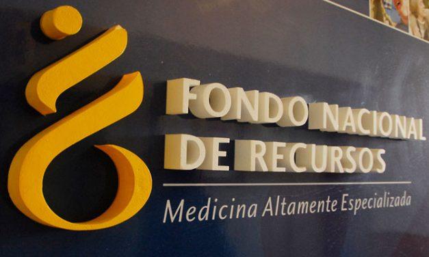 Fondo de Recursos incorpora dos medicamentos y un tratamiento