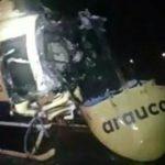 """Ataques """"antiPapa"""" en Chile: queman helicópteros e iglesias antes de la misa"""