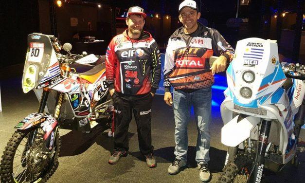 Uruguayos listos para el Rally Dakar