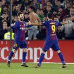 Suárez sigue anotando para Barcelona que goleó