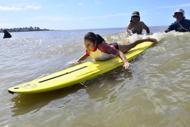 3ª Festival de Surf Inclusivo de Montevideo el 30 de Enero