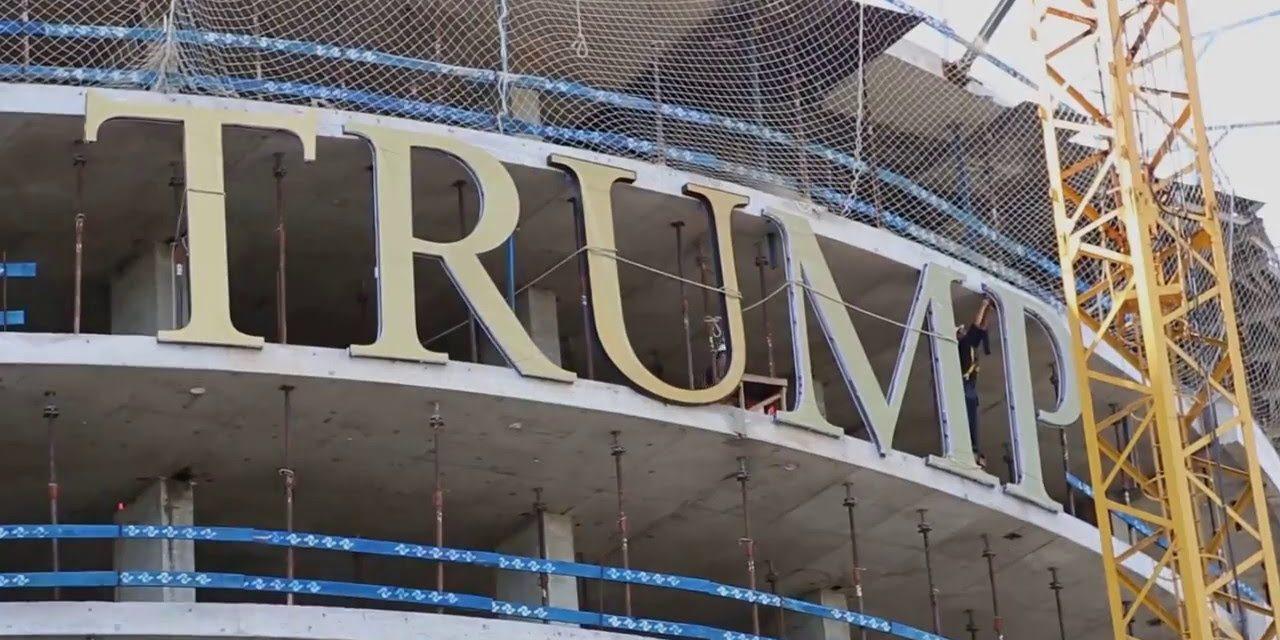 Llegó el hijo de Donald Trump para supervisar la Torre