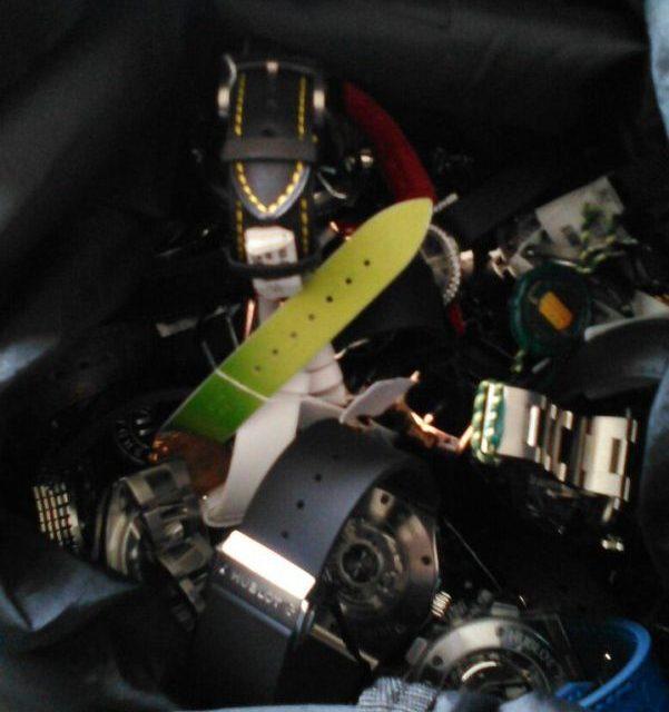 Policía incautó el botín del asalto a la joyería de Enjoy Conrad