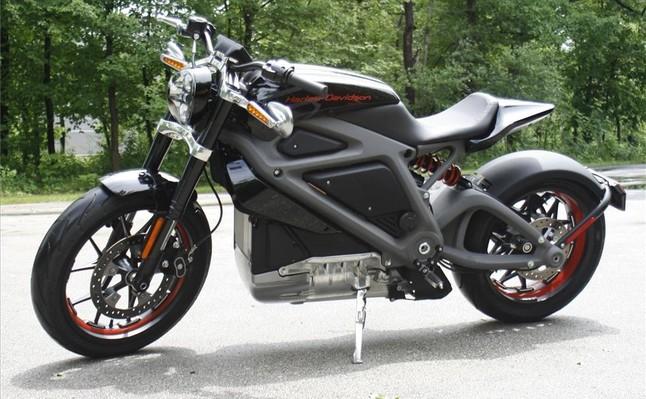 La primera Harley-Davidson eléctrica