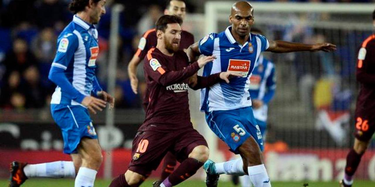 El Barcelona tuvo un traspié en el derby ante Espanyol
