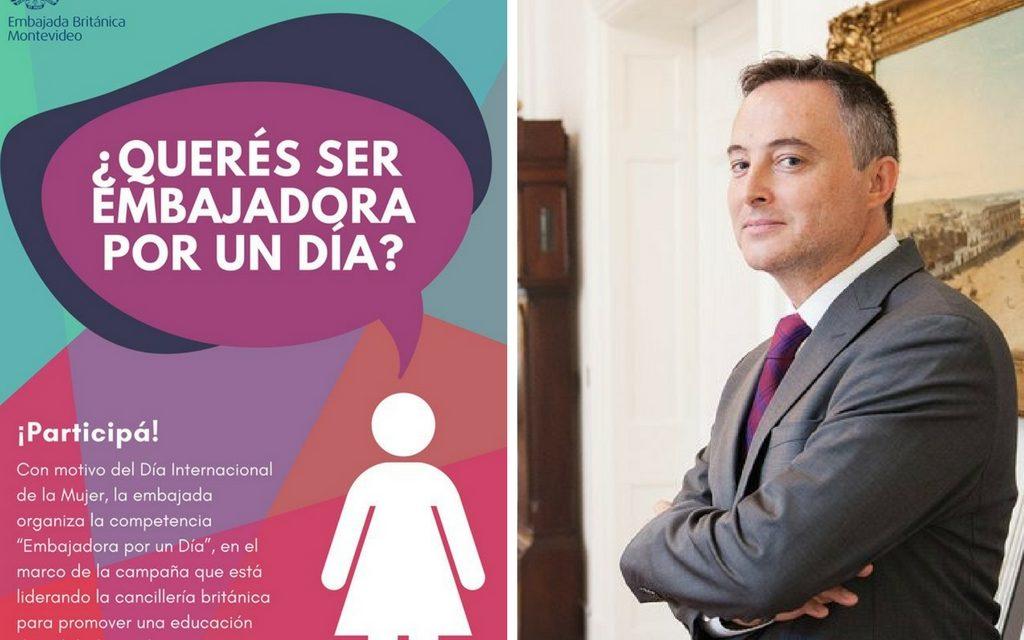 """""""Embajadora por un día"""": la propuesta que busca mayor liderazgo para las mujeres"""