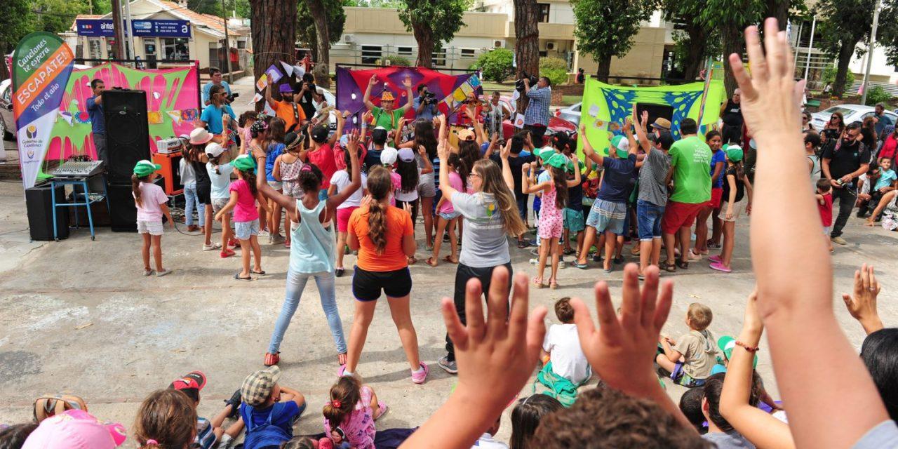 Verano Educativo recibió a más de 12.000 alumnos de escuelas públicas que participaron en actividades lúdicas y recreativas
