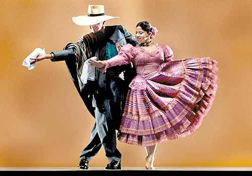 """""""La marinera"""" danza peruana con referencia a los ladrones de tumbas"""