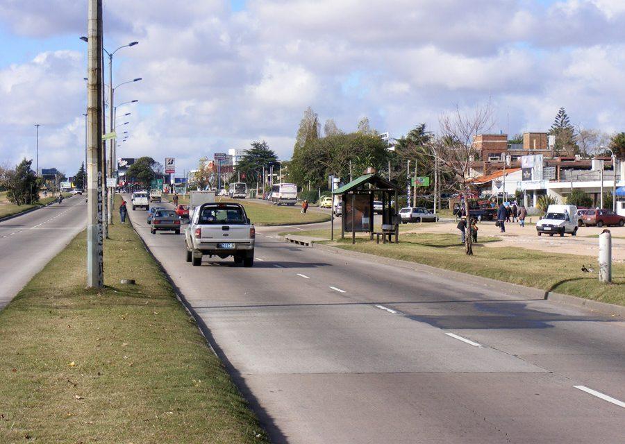 Obras de bacheo en Montevideo