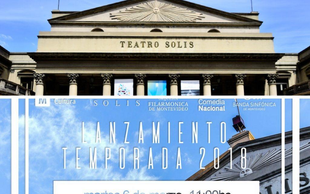 Temporada 2018 del Teatro Solís: conozca todas las novedades de su programación
