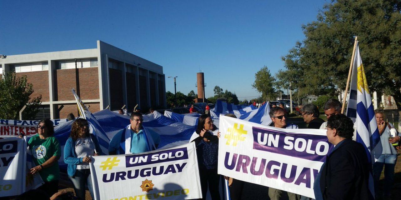 Un solo Uruguay criticó al Partido de la Gente por emitir imágenes del movimiento