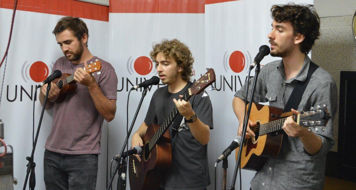 """Tres jóvenes músicos y una canción: """"Despertar"""""""