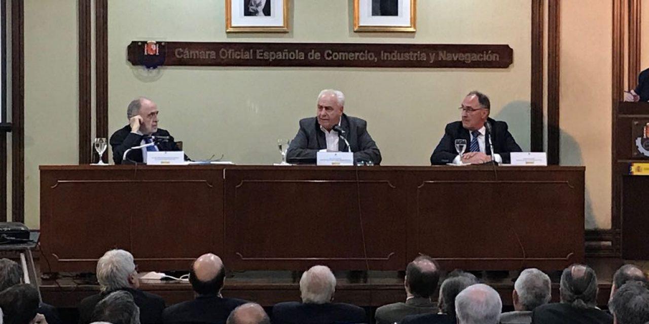 El ministro Rossi se mostró conforme con las propuestas para reparar vías del tren