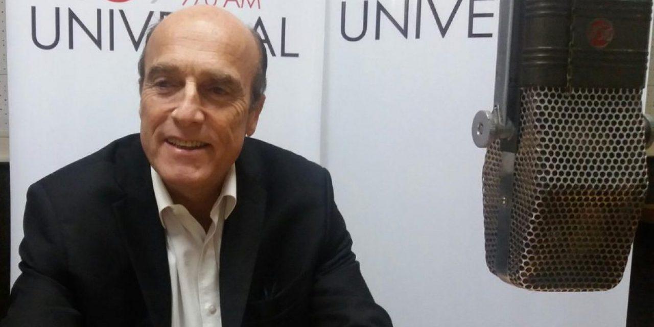 Este jueves, Daniel Martínez en Fuentes Confiables