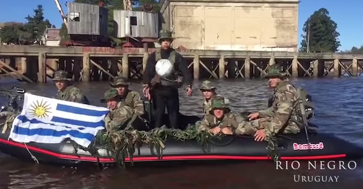 Mirá el video de aliento del Ejército a la celeste