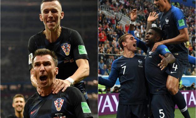 Francia y Croacia definen el campeón del mundo