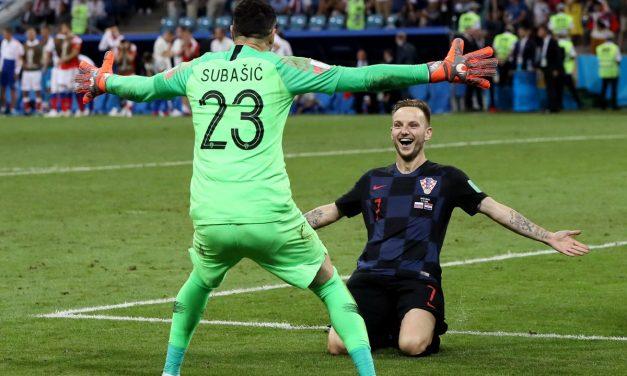 Croacia puso fin a la historia rusa