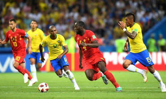 Bélgica eliminó a Brasil y pasó a semifinales