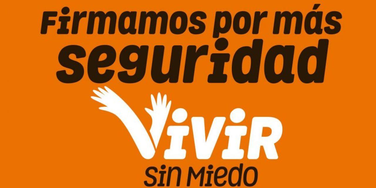 """La campaña """"Vivir sin miedo"""" tendrá su espacio en cadena nacional"""
