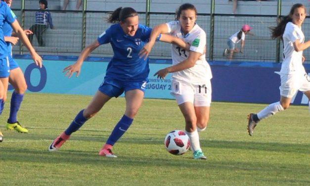 Una uruguaya fue autora del mejor gol del Mundial Femenino Sub 17
