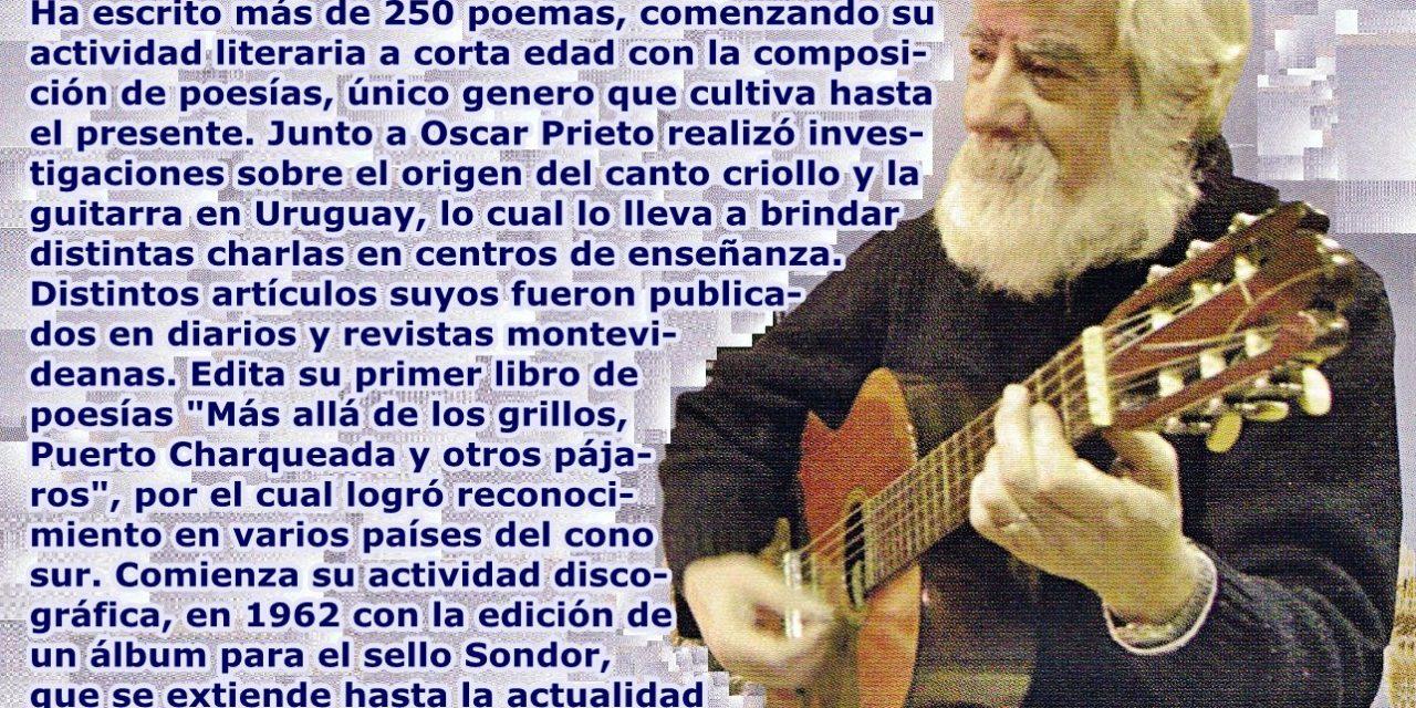 Falleció el músico y poeta Eustaquio Sosa