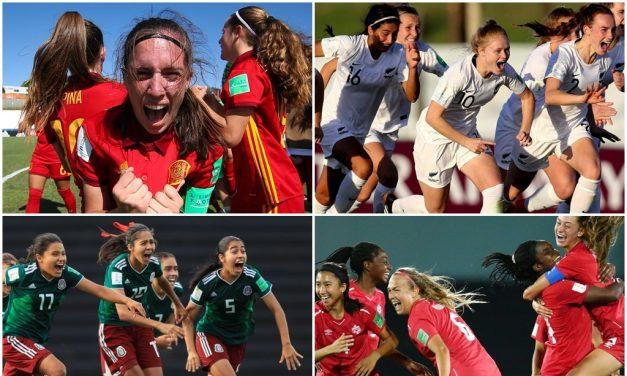 El Mundial Femenino Sub 17 conocerá las selecciones finalistas. Viví los encuentros por 970 Universal
