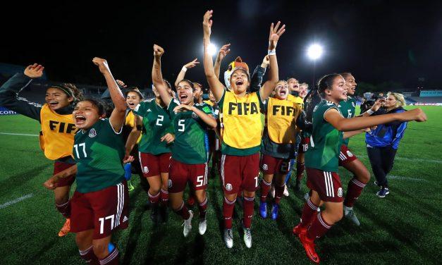 México define el Mundial Femenino Sub 17