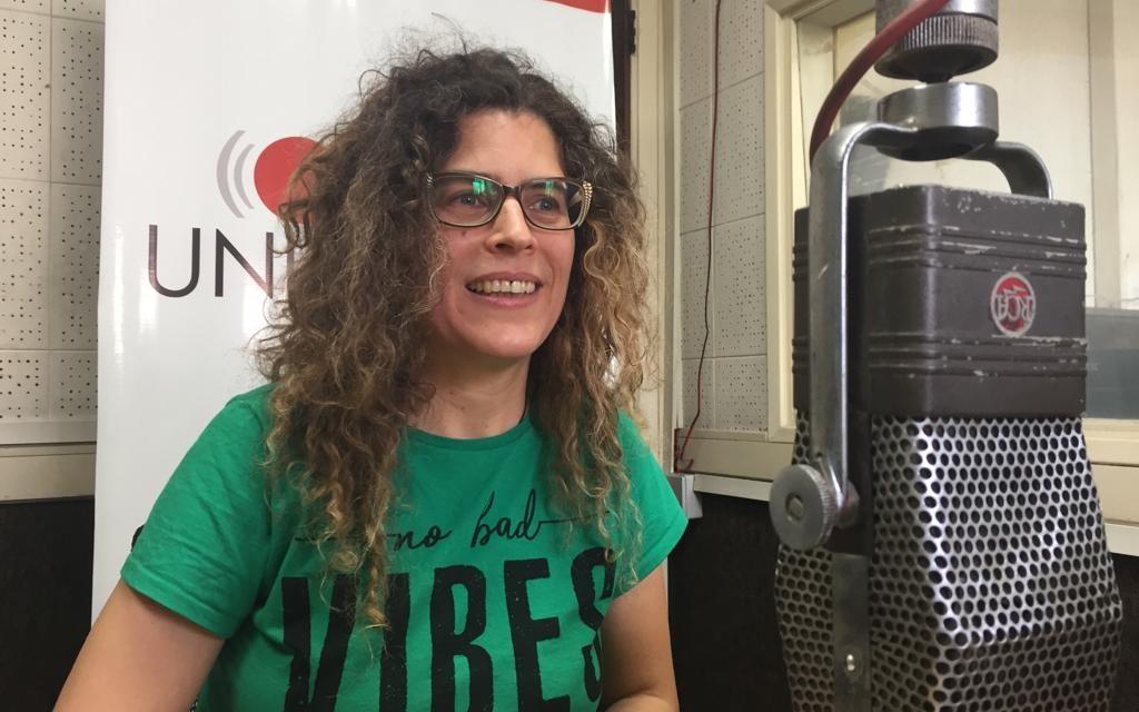 """Samantha Navarro: """"El escenario es un arma de poder"""""""