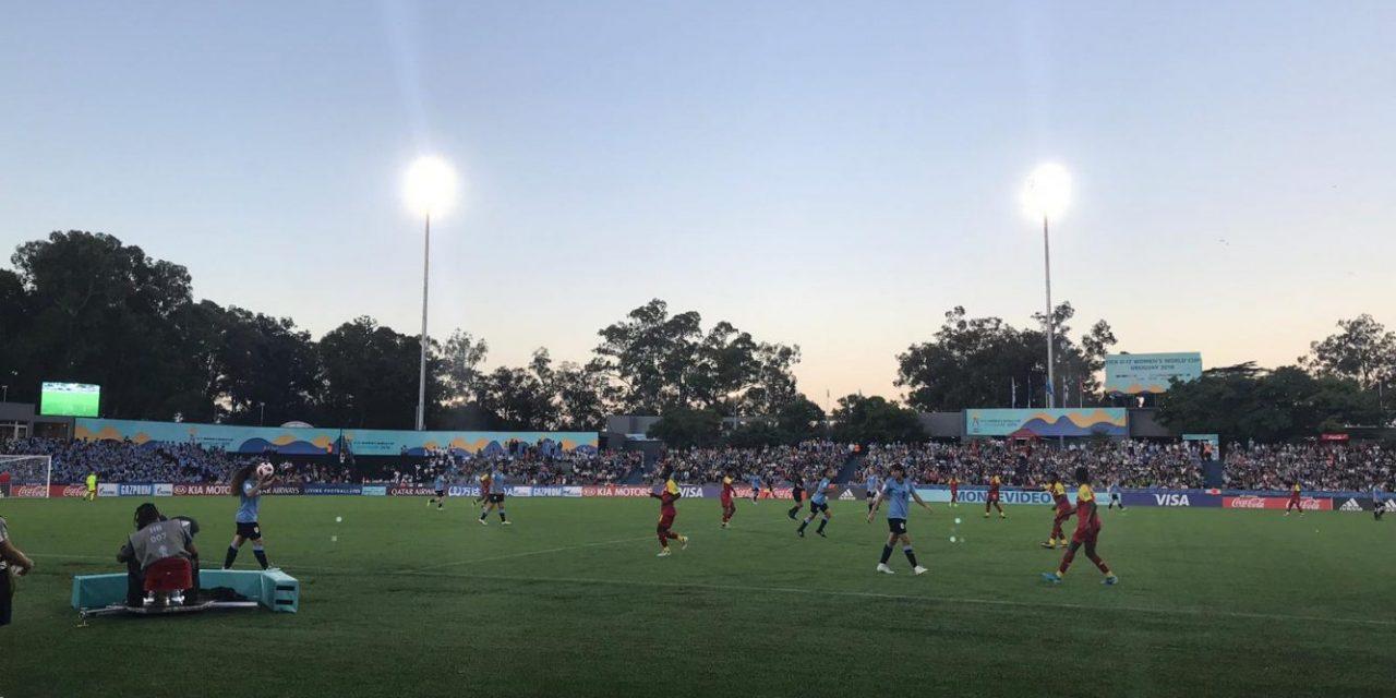 Uruguay cayó por goleada en su debut en el Mundial Femenino Sub 17