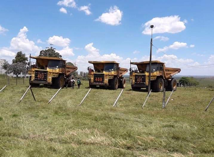 Orosur comenzó a vender su maquinaria en la Minera San Gregorio