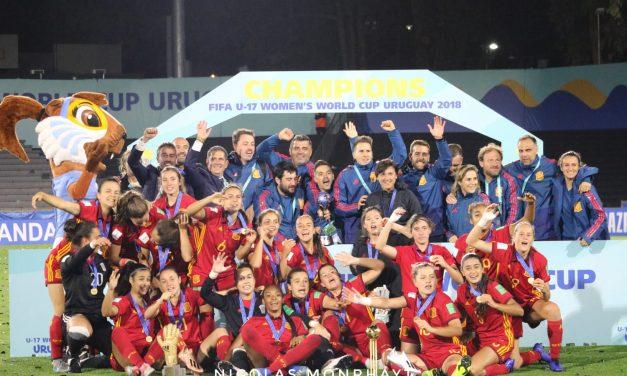 España campeona del Mundial Femenino Sub 17