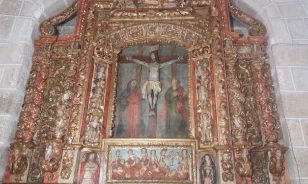 Luz para el retablo de la iglesia de Carballeda de Avia